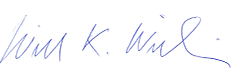 Signature of Will Wilkins