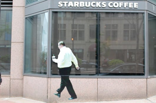 Street Ghosts - Starbucks