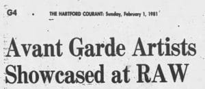 Title of Hartford Courant article on Meredith Monk