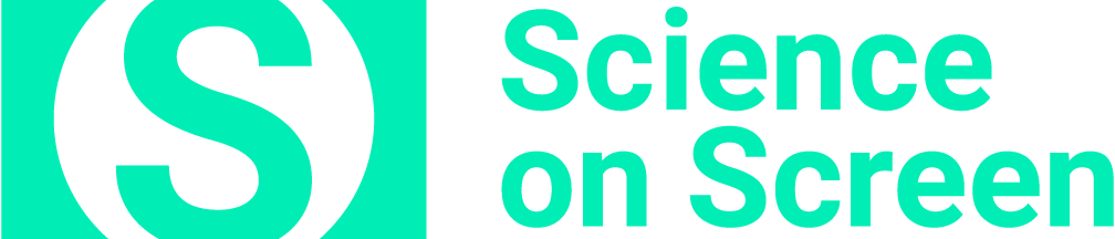 Aqua Science on Screen logo, with an S in a circle